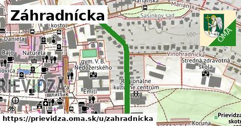 ilustračný obrázok k Záhradnícka, Prievidza