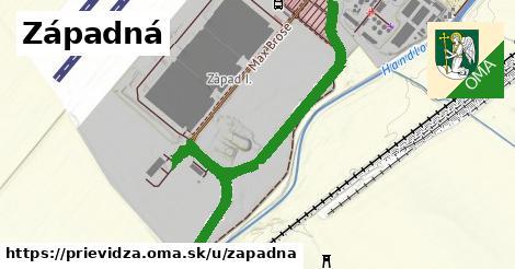ilustrácia k Západná, Prievidza - 0,86km