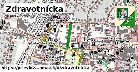 ilustrácia k Zdravotnícka, Prievidza - 140m