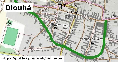 ilustrácia k Dlouhá, Přítluky - 1,02km