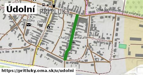 ilustrácia k Údolní, Přítluky - 246m