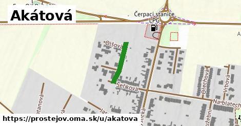 ilustrácia k Akátová, Prostějov - 131m