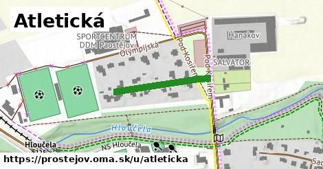 ilustrácia k Atletická, Prostějov - 222m