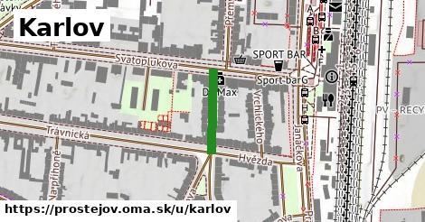ilustrácia k Karlov, Prostějov - 145m