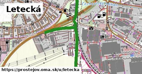 ilustrácia k Letecká, Prostějov - 1,08km