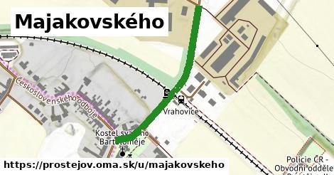 ilustrácia k Majakovského, Prostějov - 370m