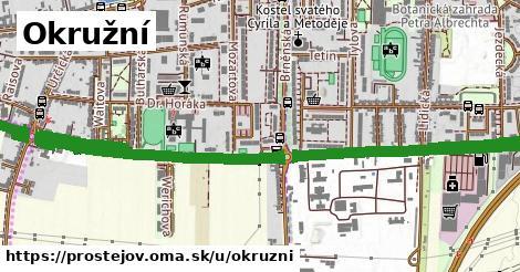 ilustrácia k Okružní, Prostějov - 3,4km