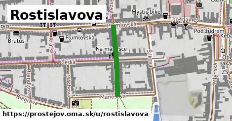 ilustrácia k Rostislavova, Prostějov - 226m