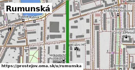ilustrácia k Rumunská, Prostějov - 377m