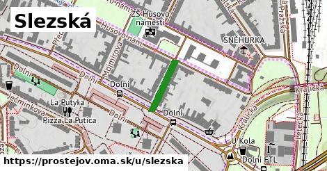 ilustrácia k Slezská, Prostějov - 127m