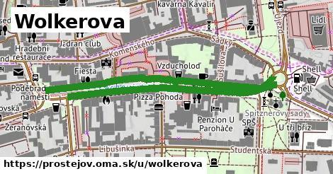 ilustrácia k Wolkerova, Prostějov - 0,98km