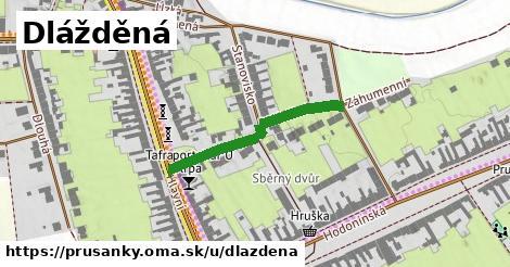 ilustrácia k Dlážděná, Prušánky - 283m