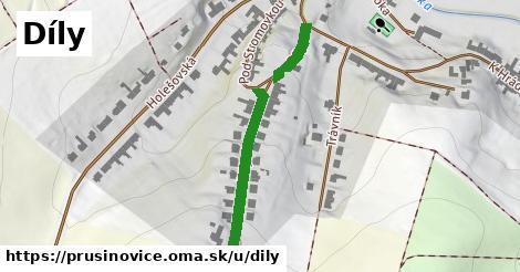 ilustrácia k Díly, Prusinovice - 344m