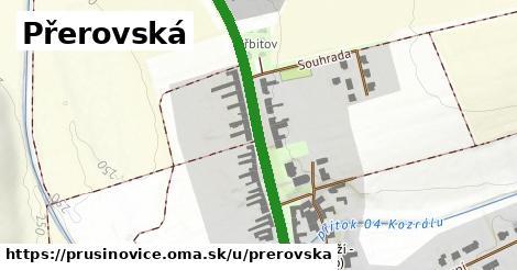 ilustrácia k Přerovská, Prusinovice - 481m