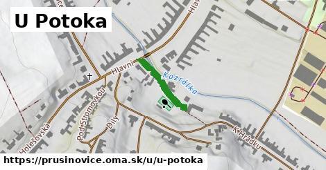 ilustrácia k U Potoka, Prusinovice - 155m