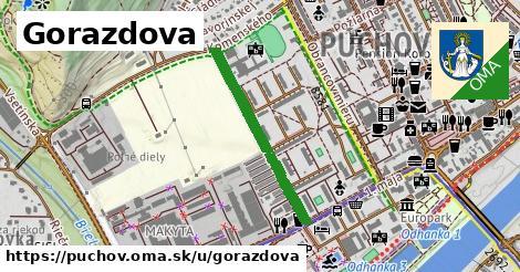 ilustrácia k Gorazdova, Púchov - 1,11km