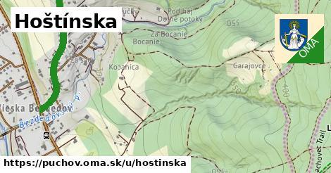 ilustrácia k Hoštinská, Púchov - 1,00km
