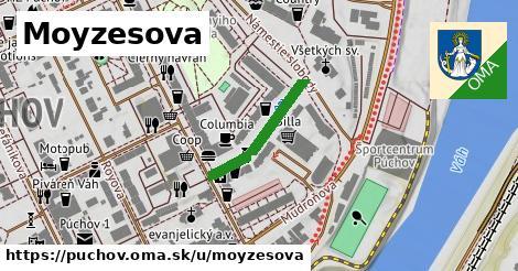 ilustrácia k Moyzesova, Púchov - 202m