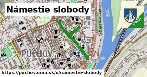 ilustrácia k Námestie Slobody, Púchov - 504m