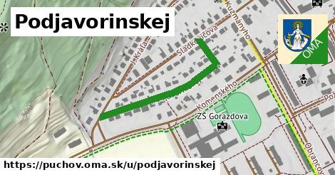 ilustrácia k Podjavorinskej, Púchov - 356m