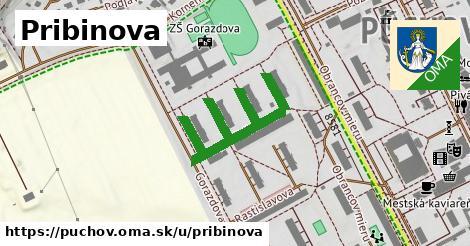 ilustrácia k Pribinova, Púchov - 168m