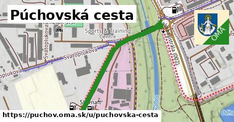 ilustrácia k Púchovská cesta, Púchov - 429m