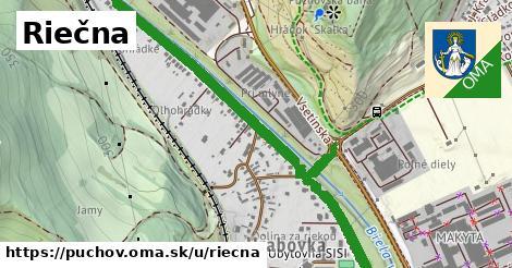 ilustrácia k Riečna, Púchov - 1,49km