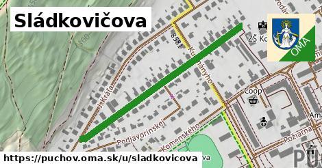 ilustrácia k Sládkovičova, Púchov - 452m