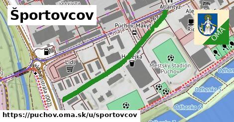 ilustrácia k Športovcov, Púchov - 443m