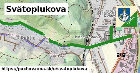 ilustrácia k Svätoplukova, Púchov - 645m