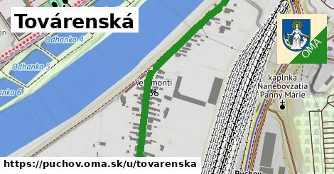 ilustrácia k Továrenská, Púchov - 576m
