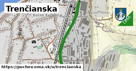 ilustrácia k Trenčianská, Púchov - 0,79km