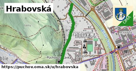ilustrácia k Hrabovská, Púchov - 0,74km