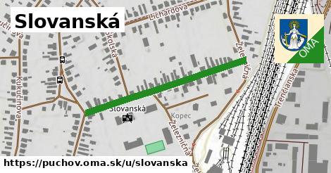 ilustrácia k Slovanská, Púchov - 376m