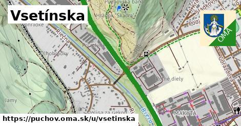 ilustrácia k Vsetínska, Púchov - 1,16km