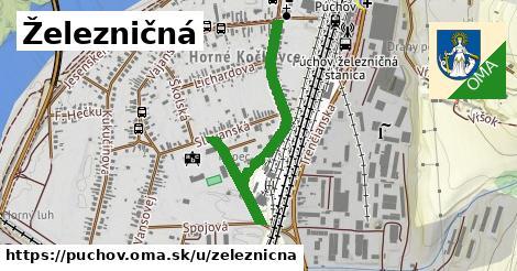 ilustrácia k Železničná, Púchov - 641m