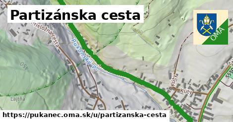 ilustrácia k Partizánska cesta, Pukanec - 0,71km