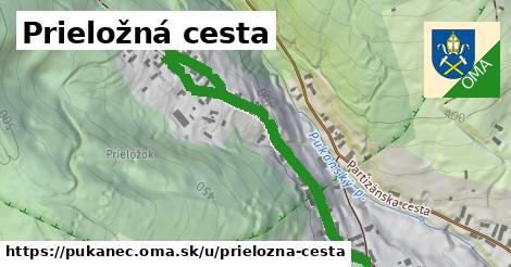 ilustrácia k Prieložná cesta, Pukanec - 553m