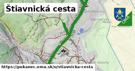 ilustrácia k Štiavnická cesta, Pukanec - 1,59km