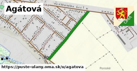 ilustrácia k Agátová, Pusté Úľany - 690m