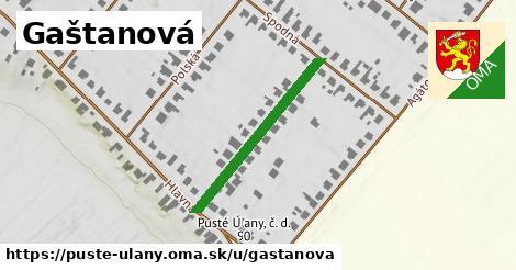 ilustrácia k Gaštanová, Pusté Úľany - 288m