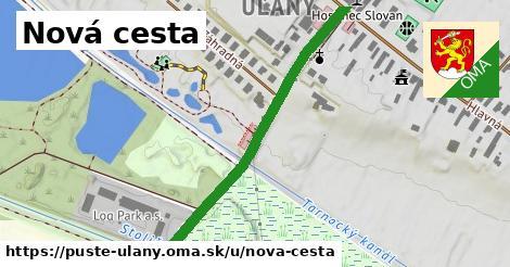 ilustrácia k Nová cesta, Pusté Úľany - 456m