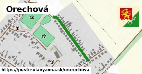 ilustrácia k Orechová, Pusté Úľany - 464m