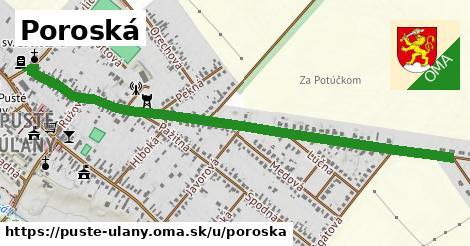 ilustrácia k Poroská, Pusté Úľany - 1,94km