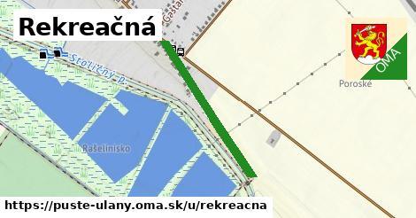 ilustrácia k Rekreačná, Pusté Úľany - 582m