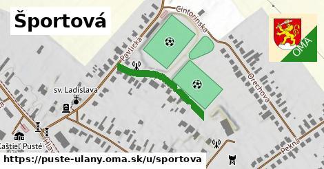 ilustrácia k Športová, Pusté Úľany - 219m