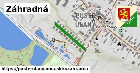 ilustrácia k Záhradná, Pusté Úľany - 218m