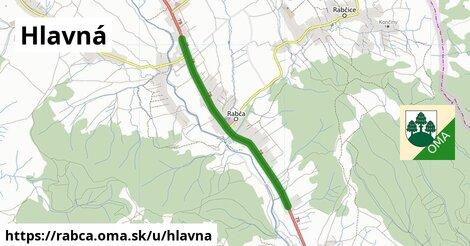 ilustrácia k Hlavná, Rabča - 5,0km