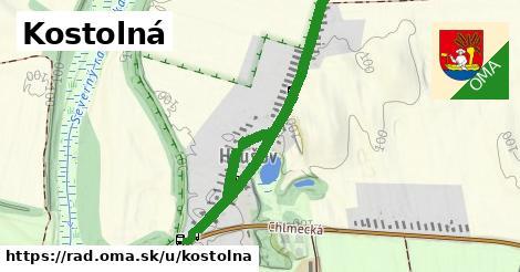 ilustrácia k Kostolná, Rad - 1,13km