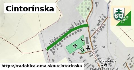 ilustrácia k Cintorínska, Radobica - 279m